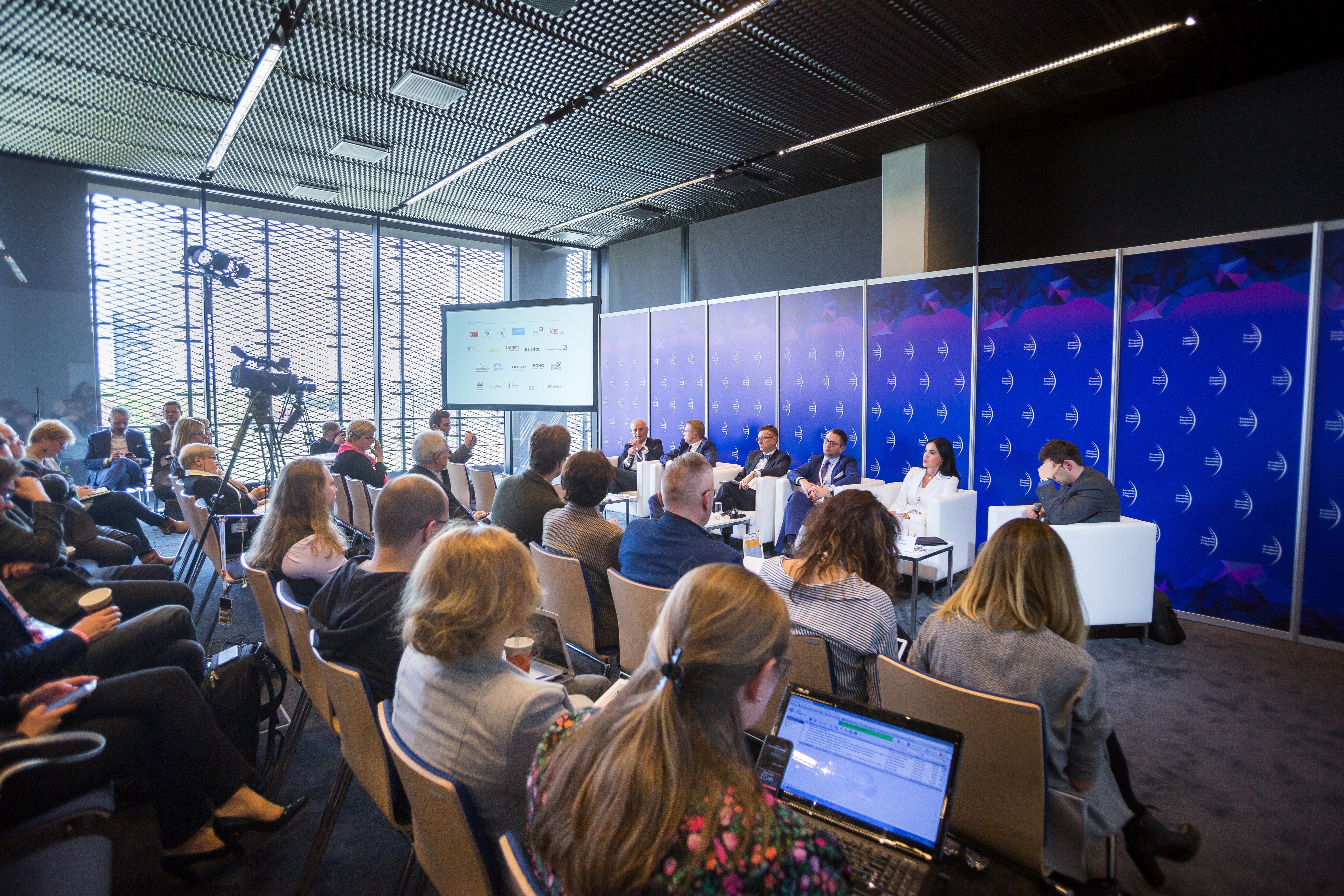 Dyskusja o nowoczesnej oświacie odbyła się podczas IX Europejskiego Kongresu Gospodarczego w Katowicach (fot. PTWP)