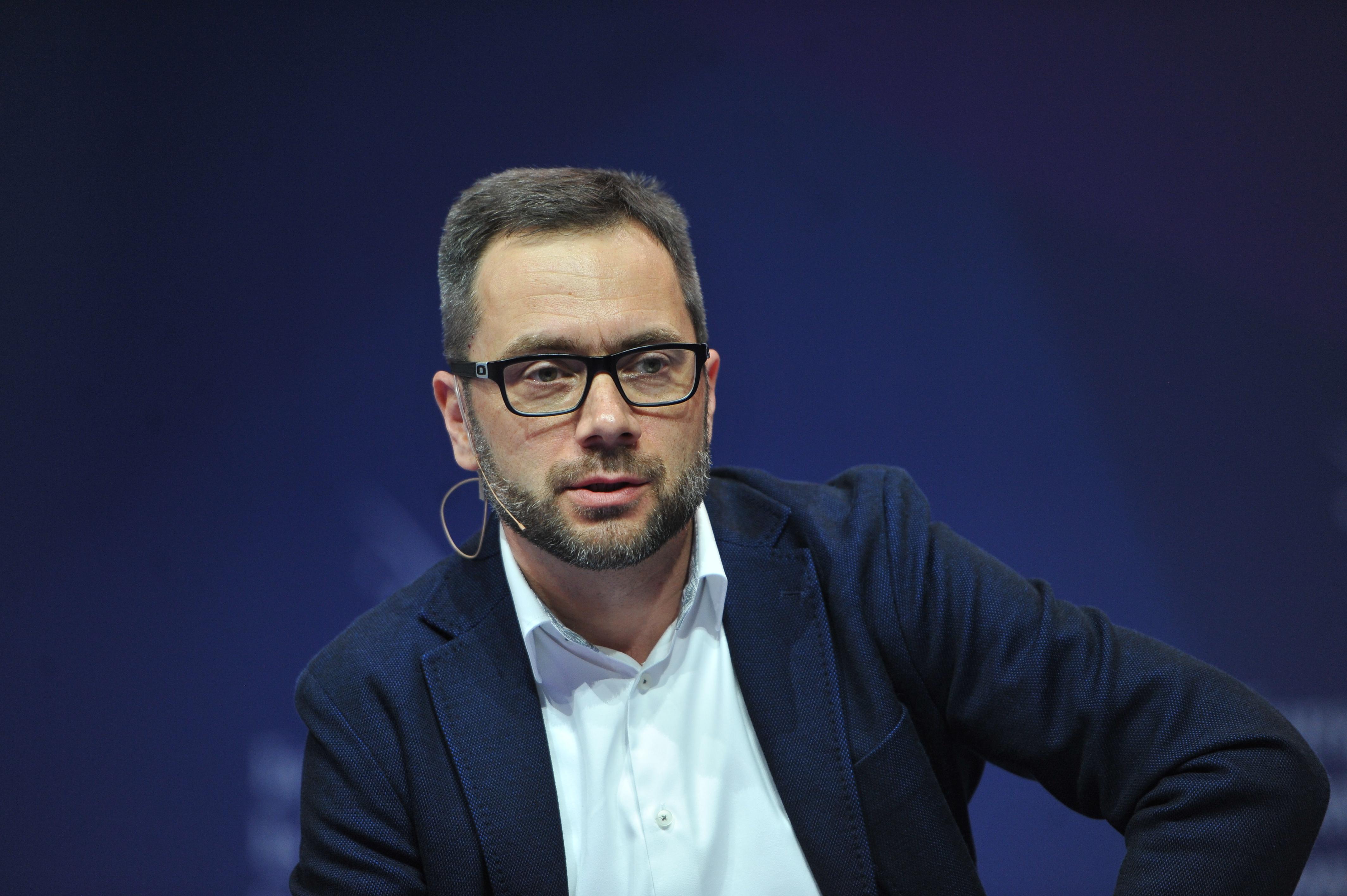 Przemysław Furlepa, dyrektor odpowiedzialny za digital transformation z ING Banku Śląskiego (Fot. PTWP)