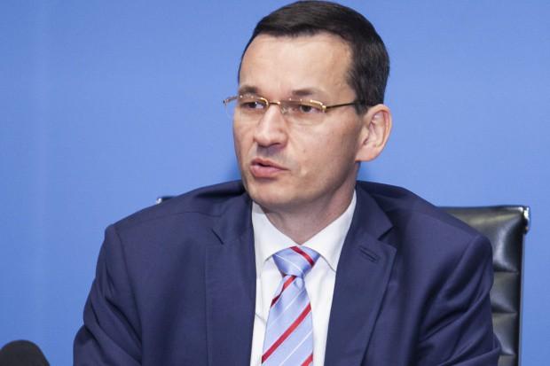 Mateusz Morawiecki krytykuje prace UE nad dyrektywą o pracownikach delegowanych