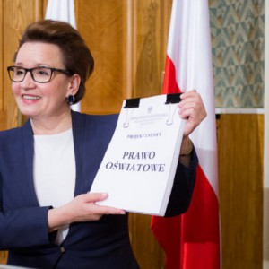 Zalewska: Reforma została wdrożona. Nauczyciele przeszkoleni