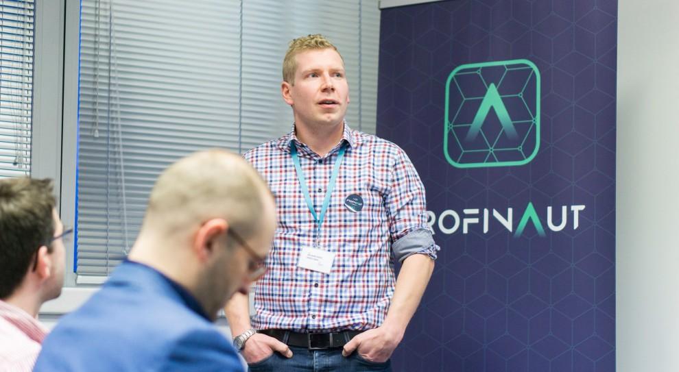 Adam Hazdra, współtwórca aplikacji Profinaut, źródło: materiały prasowej