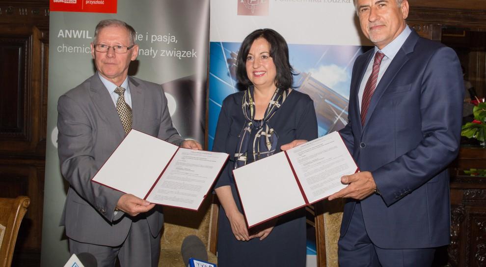Anwil zaczyna współpracę z Wydziałem Chemicznym Politechniki Łódzkiej