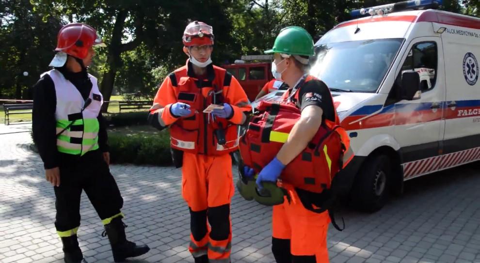 Protest ratowników: karetki przez tydzień będą woziły pacjentów na sygnale