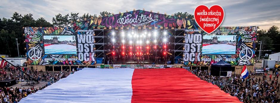 Scena Przystanku Woodstock, drugiej inicjatywy Jurka Owsiaka i WOŚP, źródło: facebook.com/wosp