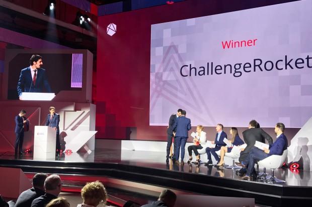 Zwycięzca konkursu ABSL Start-Up Challenge (fot.mat.pras)