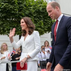 Brytyjska para książęca spotyka się z młodymi przedsiębiorcami