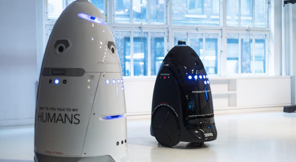 Robot-ochroniarz chciał popełnić samobójstwo?