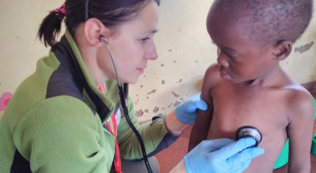 Na urlopie pracowała jako wolontariusz. Polska lekarka w Malawi