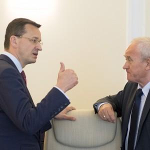 Wicepremier Mateusz Morawiecki szuka inwestorów w Londynie
