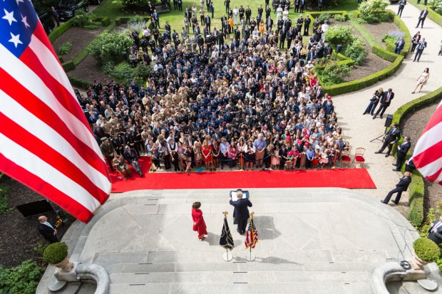 Imponujący gest Donalda Trumpa