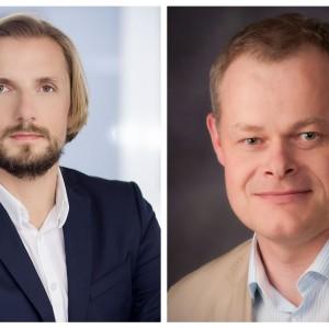 Jacek Borek i Mateusz Trojanowski z Accenture