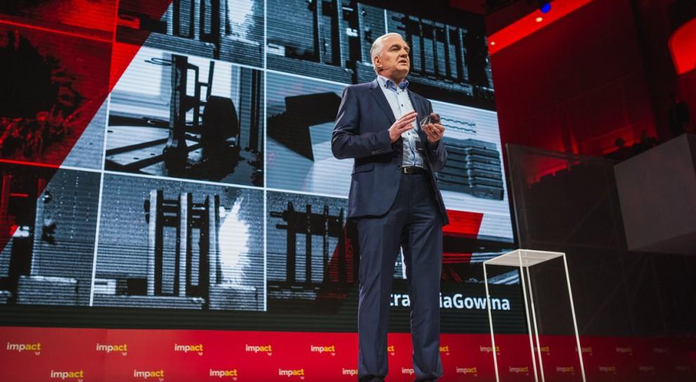 Reformujemy szkolnictwo wyższe ponieważ chcemy, aby stało się ono kuźnią talentów, które będą motorem napędowym polskiej gospodarki opartej na innowacjach - mówi wicepremier, minister nauki i szkolnictwa wyższego. (Jarosław Gowin, fot.twitter.com/NAUKA_GOV_PL)