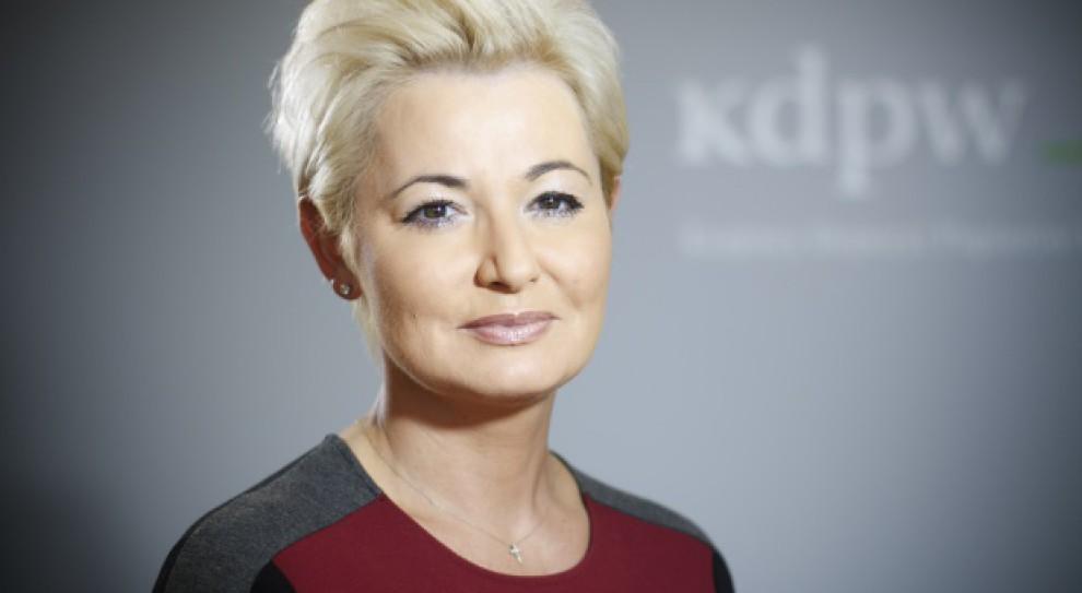 Iwona Sroka odwołana ze stanowiska prezesa zarządu Krajowego Depozytu Papierów Wartościowych