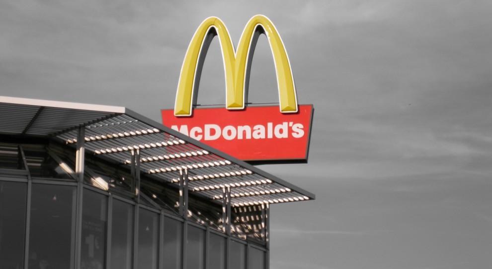 McDonald's. Pracownicy protestowali w Wielkiej Brytanii przed parlamentem