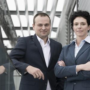 Marcin Lewandowski oraz Anna Jakób, członkowie zarządu grupy GPEC
