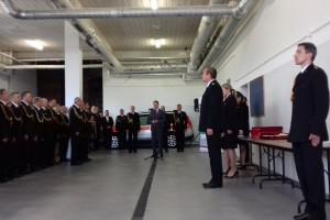 Minister nagrodził strażaków