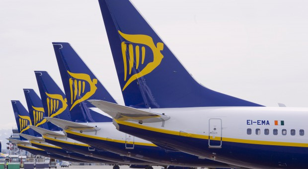 Strajk pilotów i personelu pokładowego Ryanaira