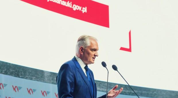 Jarosław Gowin: Dyplom polskiej uczelni musi odzyskać prestiż