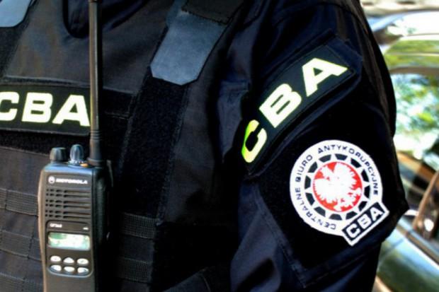 CBA: Burmistrz podejrzany o ustawianie przetargów