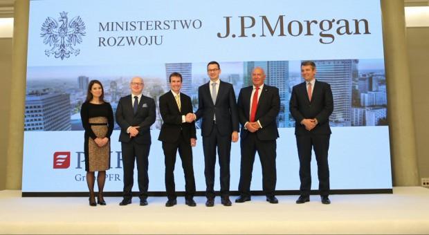 JP Morgan w Polsce: Praca dla 3 tys. osób w centrum korporacyjnym