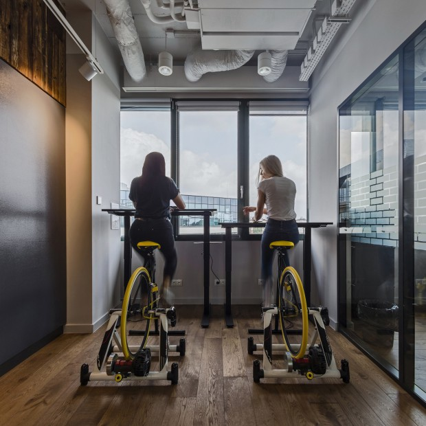 Praca na rowerze(fot.mat.prasowe)