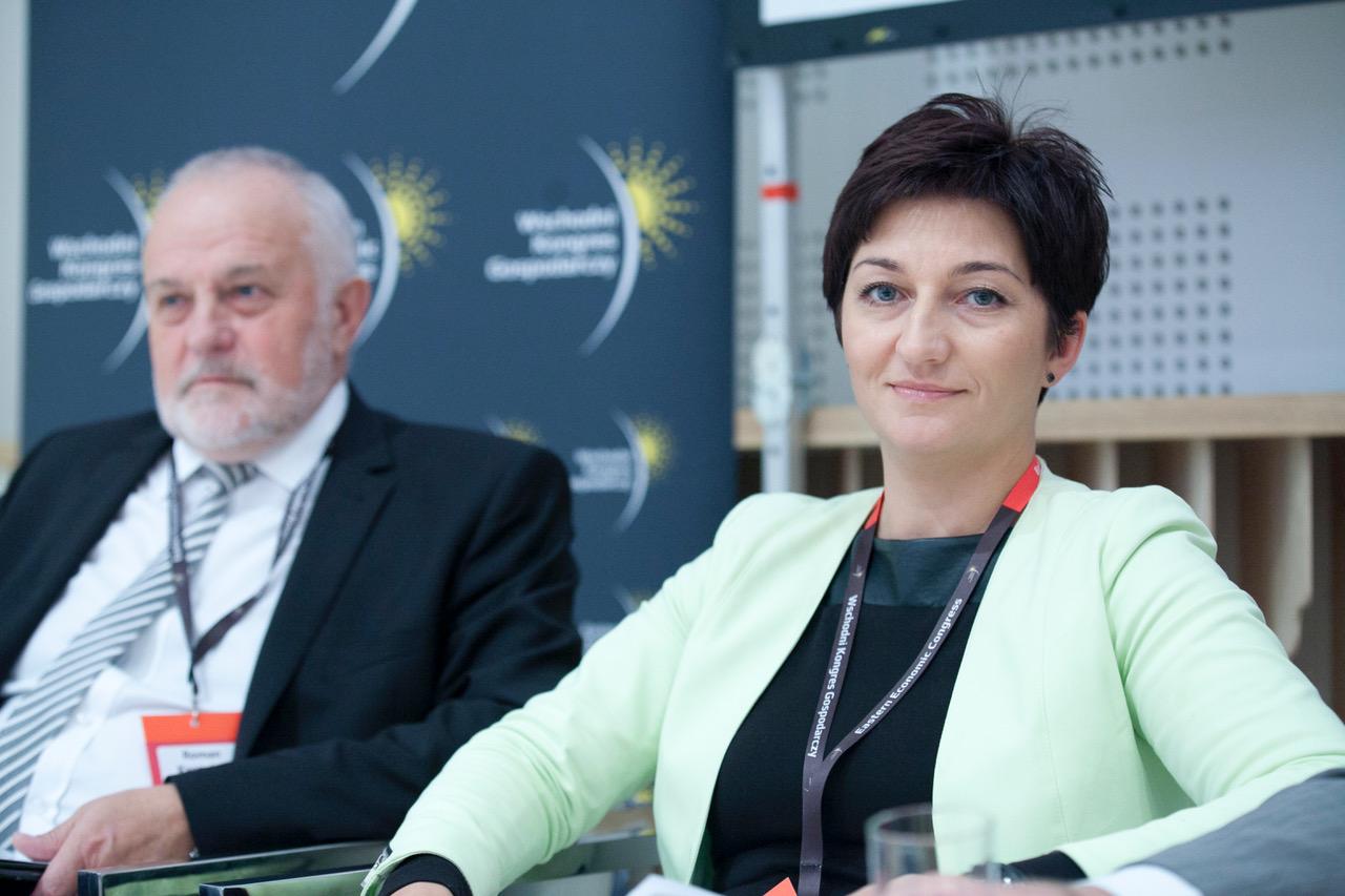 Pewne efekty współpracy uczelni z pracodawcami są widoczne już teraz. Potwierdza to Aneta Andruszkiewicz, dyrektor personalna w firmie Unibep. (fot. PTWP)