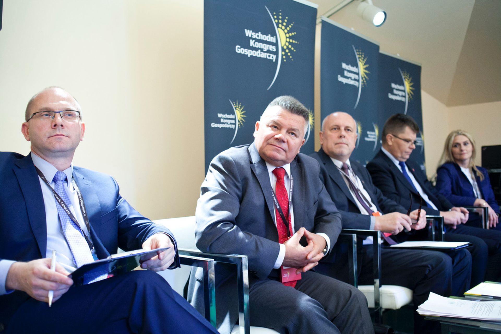 Od lewej: Jacek Sułek, Andrzej Ryński, Ireneusz Wiśniewski.Fot. PTWP / PP