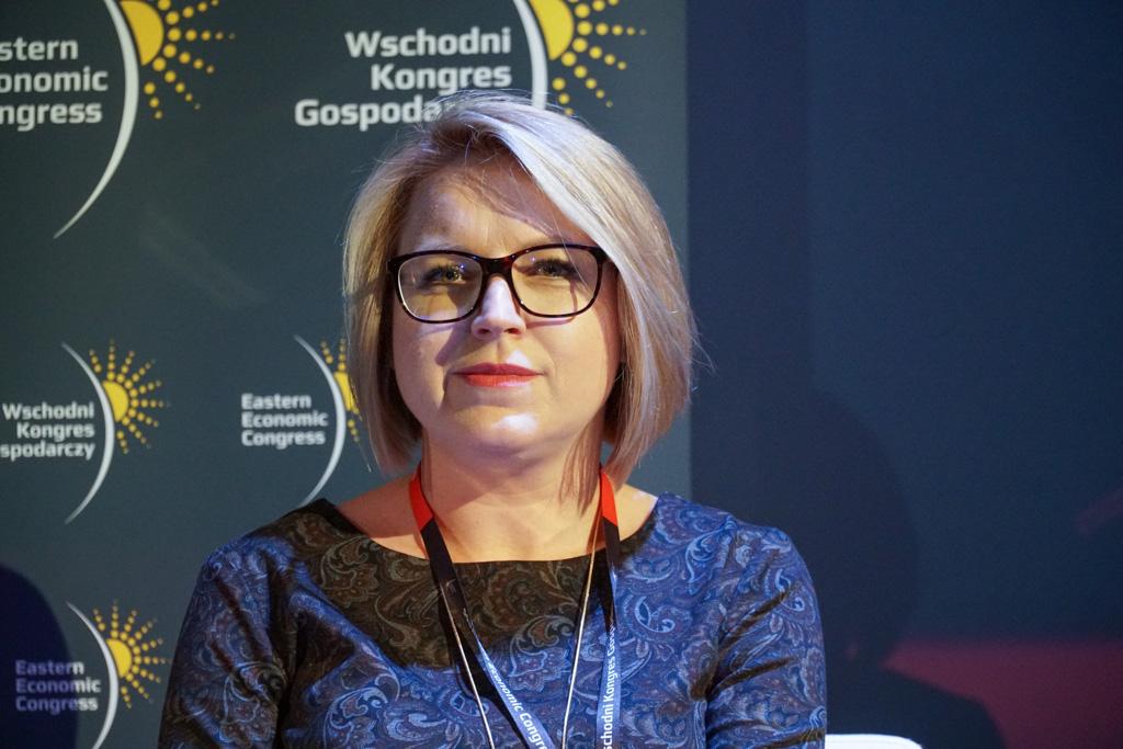 Anna Daszuta-Zalewska, dyrektor Białostockiego Parku Naukowo-Technologicznego (fot. Grupa PTWP)