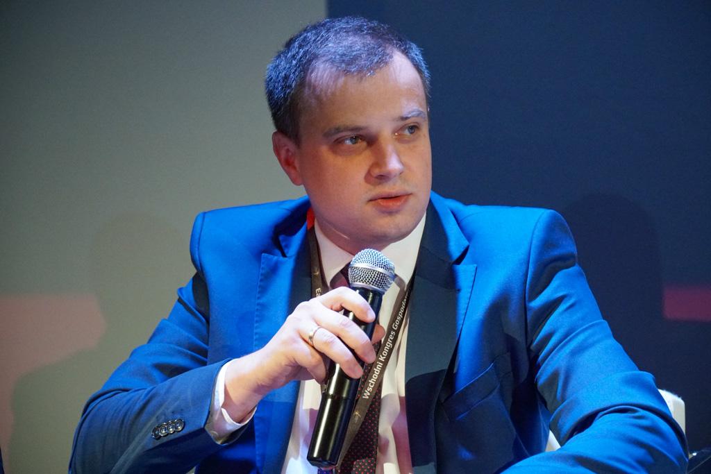 Mariusz Szmidt dyrektor pionu usług Parku Technologicznego w Suwałkach (fot. Grupa PTWP)