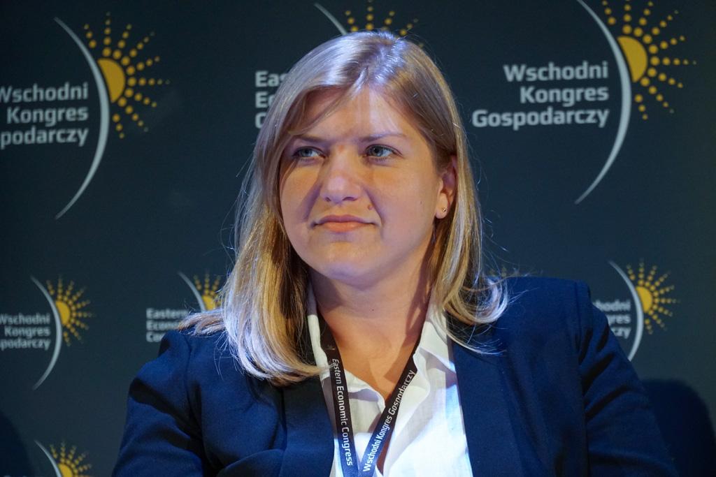 Anna Brussa, dyrektor Departamentu Rozwoju Startupów w Polskiej Agencji Rozwoju Przedsiębiorczości (fot. Grupa PTWP)