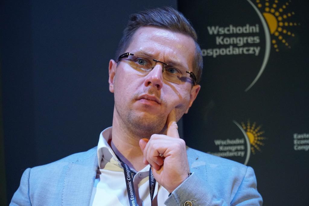 Łukasz Siemieniuk, partner zarządzający w Inkubatory AIP na region Białystok i Lublin, regionalny dyrektor Growth w Business Link (fot. Grupa PTWP)