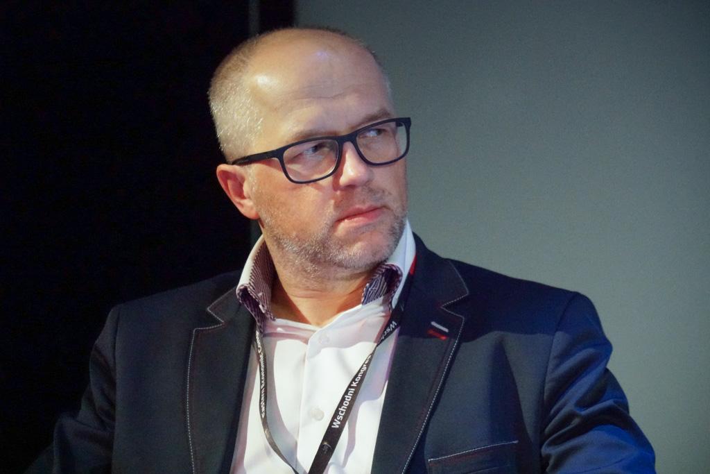 Paweł Tadejko, ambasador Startup Poland, kierownik studiów podyplomowych na wydziale informatyki Politechniki Białostockiej (fot. Grupa PTWP)
