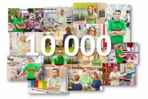 Leroy Merlin zatrudnia już ponad 10 tys. pracowników w Polsce