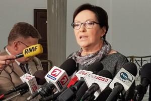 Kopacz: Premier nie powinna opowiadać rezydentom banialuków pod tytułem plany na przyszłość