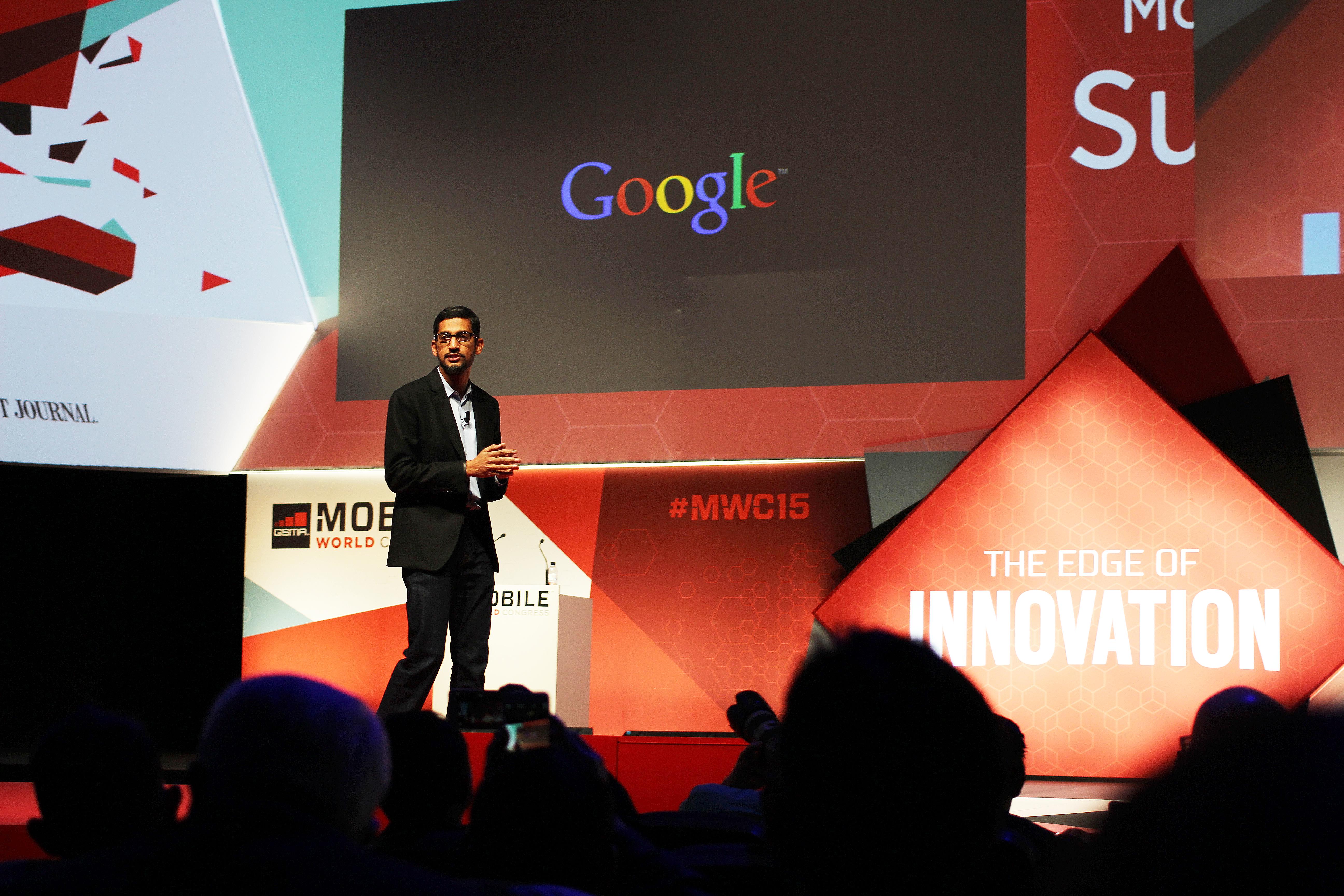 Sundar Pichai, kierujący spółką Google (fot. archiwum)