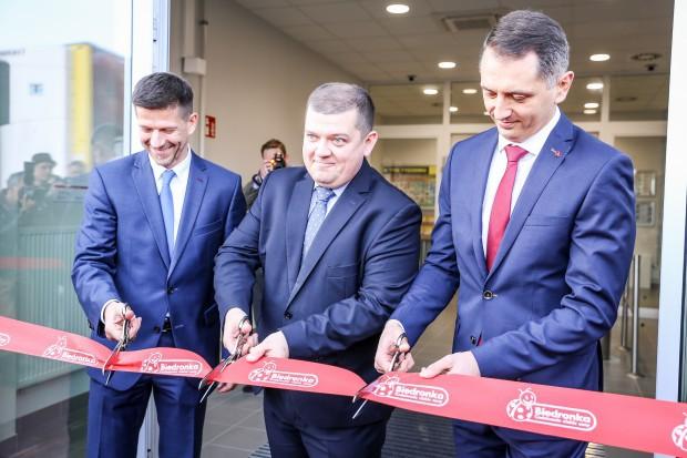 Biedronka otwarła największe centrum dystrybucyjne. Praca dla 320 osób