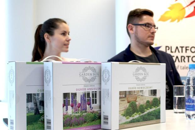 """Garden box, czyli pomysł na startup, który """"zakiełkował"""" w parku... przemysłowym"""