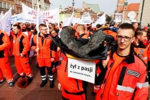 Ratownicy medyczni znów będą strajkować
