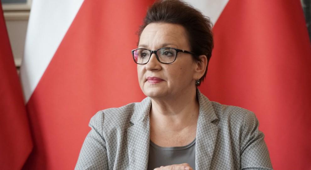 Anna Zalewska: Więcej miejsc pracy dla nauczycieli w tym roku szkolnym