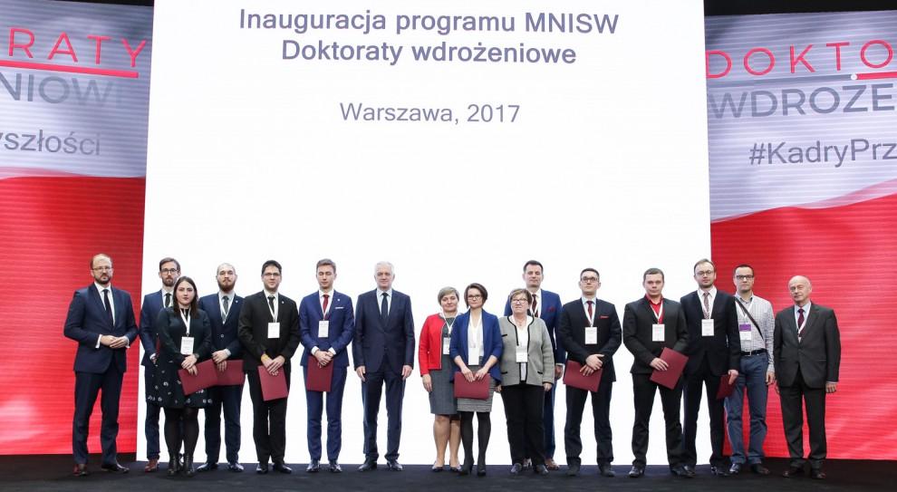 Politechnika Śląska, Politechnika Warszawska oraz Akademia Górniczo-Hutnicza z największą liczbą doktoratów wdrożeniowych