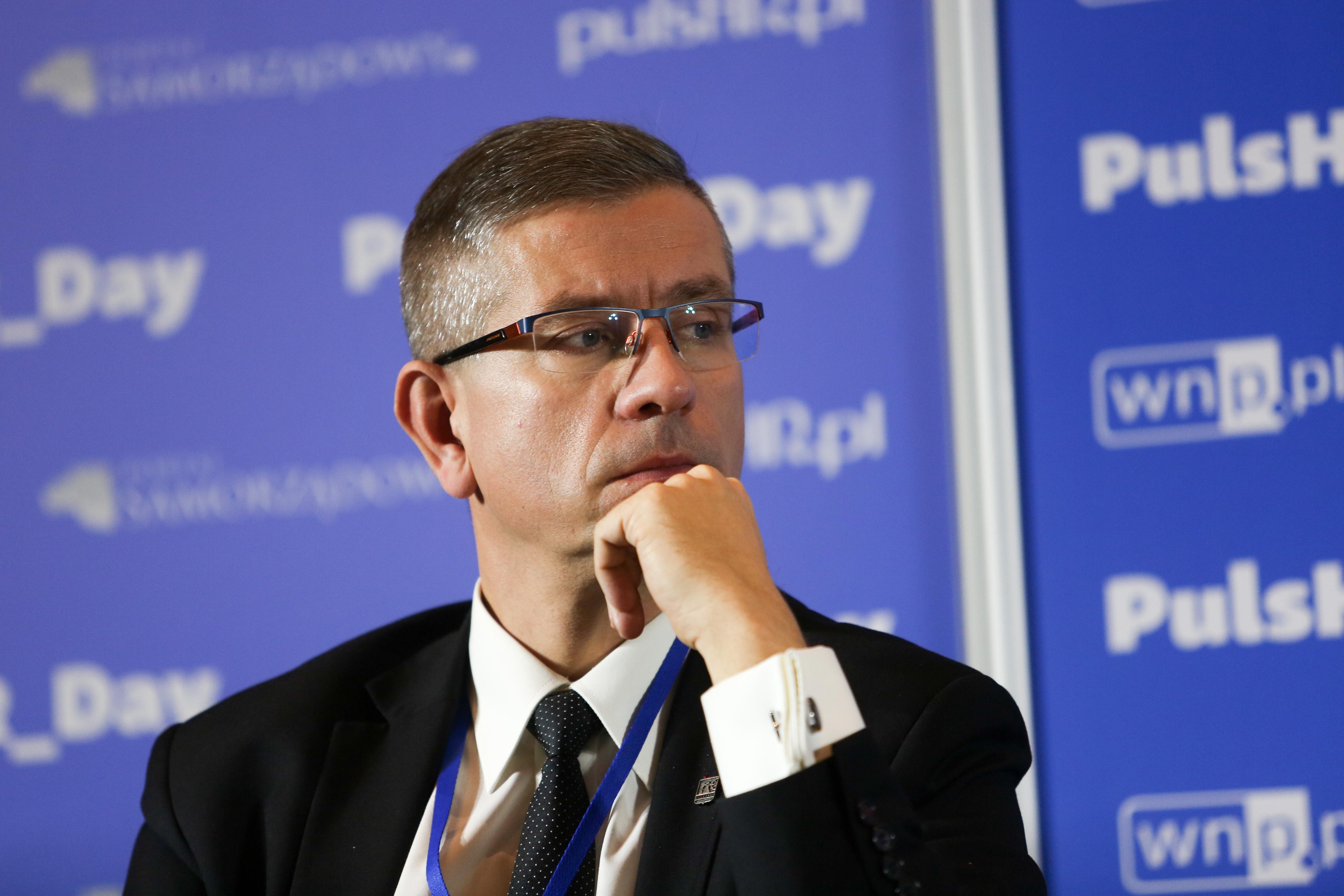 Budowa infrastruktury, współpraca z uczelniami i otwarcie na inwestorów - to przepis na sukces Katowic. Na zdjęciu wiceprezydent miasta Waldemar Bojarun. (fot. PTWP)
