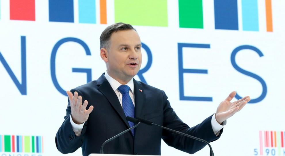 Andrzej Duda wręczył Nagrody Gospodarcze Prezydenta