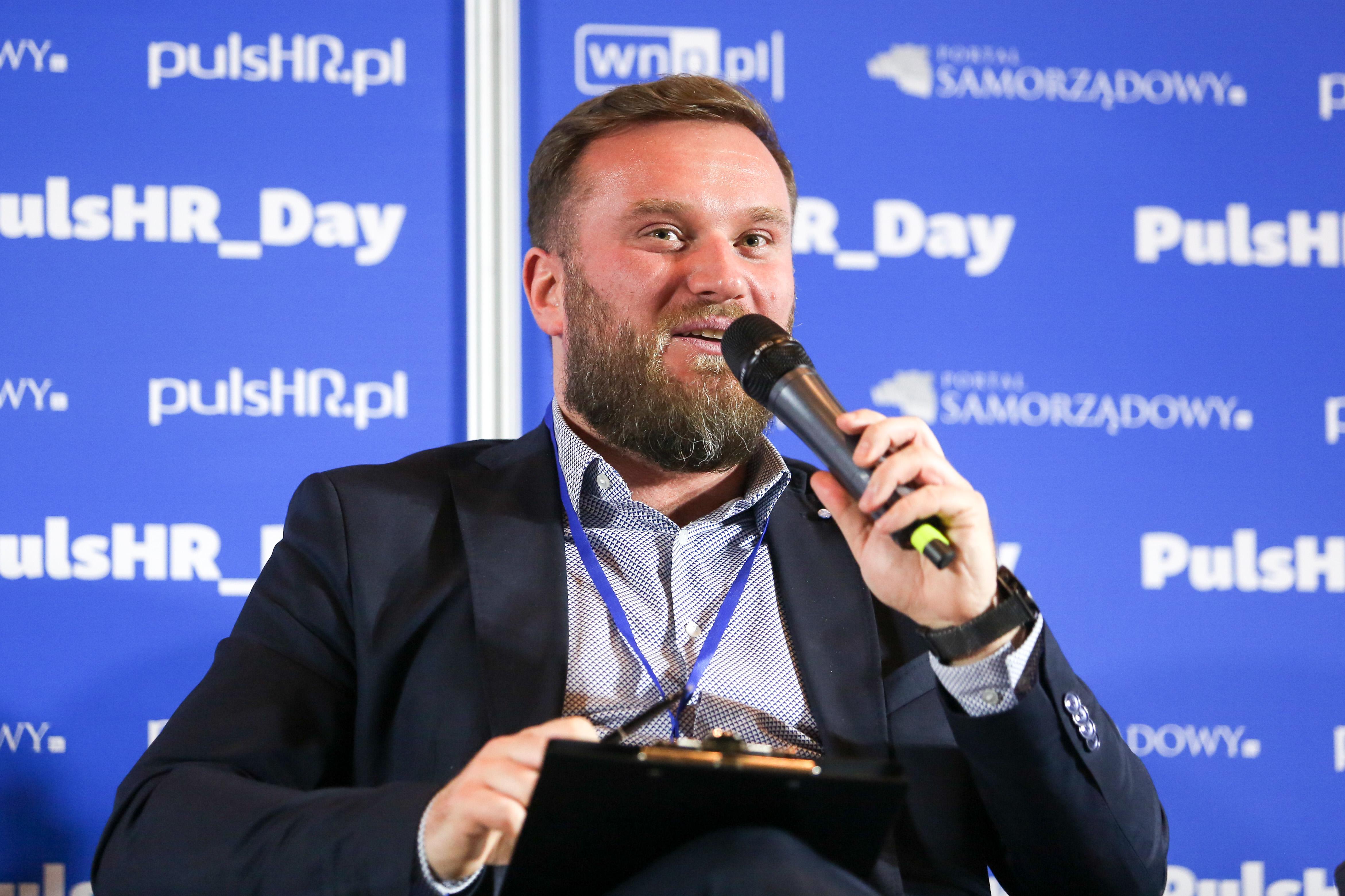 Adam Wąsik, członek zarządu Goldenline. (Fot. PTWP)