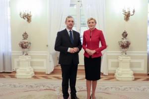 Sławomir Broniarz u Pierwszej Damy: Rozmawialiśmy jak nauczycielka z nauczycielem