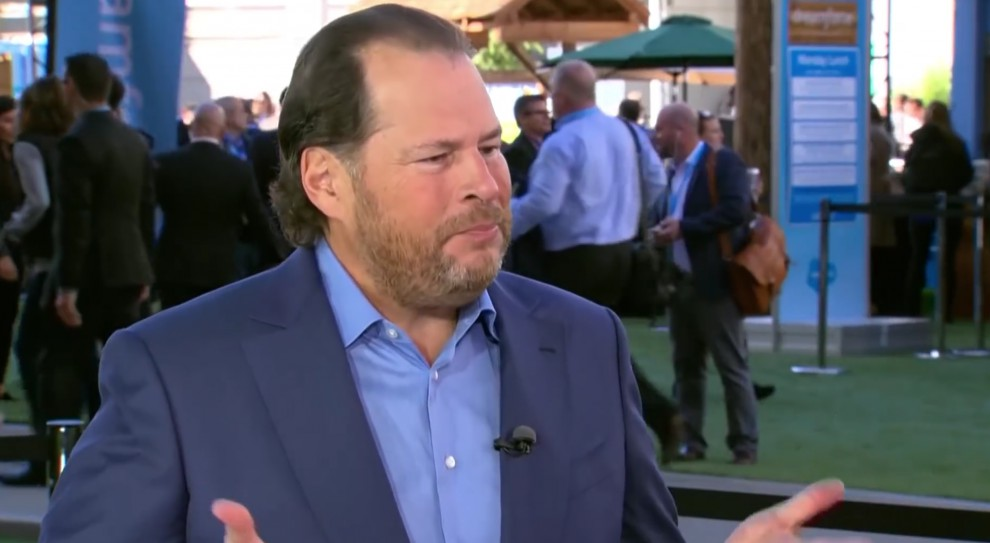 Amerykański szef wszech czasów? Wygrywa Marc Benioff z Salesforce, pokonał m.in. Zuckerberga