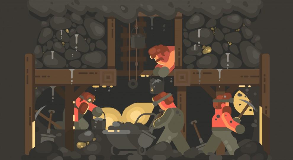 Górnictwo: Zatrudnienie spada, wynagrodzenia rosną