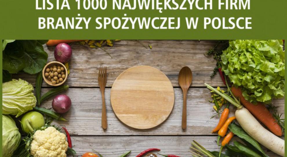 Oto 1000 największych firm spożywczych w Polsce
