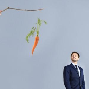 """""""Kijem"""" czy """"marchewką"""", jak skłonić ludzi do wydajnej pracy?"""