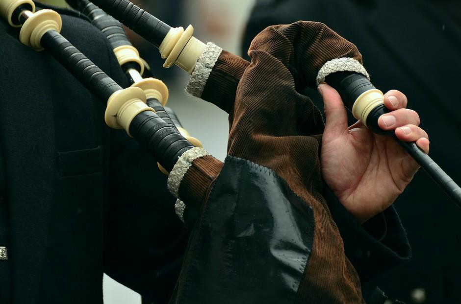 Dudy to instrument ludowy Szkocji, źródło: pixabay.com