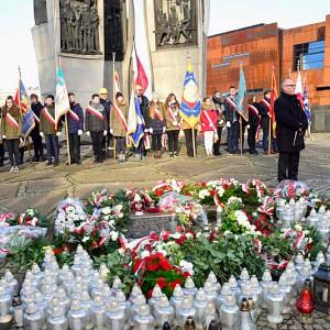 Pracownicy Stoczni Gdańsk uczcili rocznicę Grudnia'70